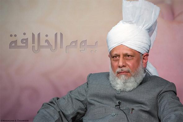 Khilafat Day 2014 Huzoor in Arabic Program