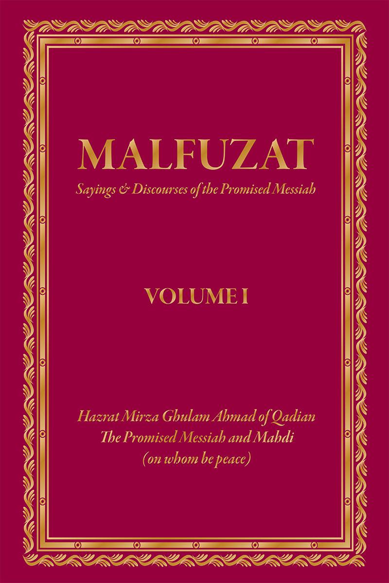 Malfuzat - Volume I | Islam Ahmadiyya